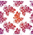 Bright floral seamless vector image vector image