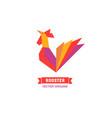 cartoon bird icon vector image vector image