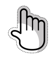 hand pointer cursor icon vector image vector image