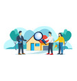 looking for house to buy vector image vector image