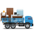Moving Concept vector image vector image