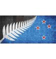 New flag of New Zealand vector image vector image
