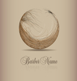 design for hair logo vector image