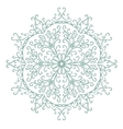 Vintage ornament can be used as a greeting card vector image