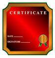 Best certificate vector image