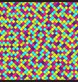 diamond pattern seamless geometric background vector image vector image
