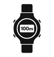 Fitness tracker icon simple style
