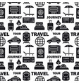 journey seamless pattern vector image vector image