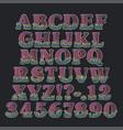 letters - alphabet vector image