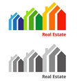 RealEstateIcon vector image vector image