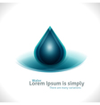 Water Drops Design Background vector image vector image