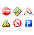 roadstyle icons vector image