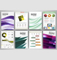 creative business backgrounds and abstract vector image vector image