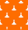 dress pattern seamless vector image vector image