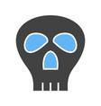 pirate skull ii vector image vector image