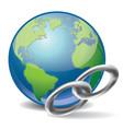 Global link vector image