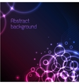 Abstract plasma background vector image vector image