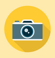 Camera Icon Flat vector image vector image