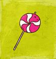 Lollipop Cartoon vector image