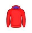 Mens winter sweatshirt icon cartoon style vector image vector image