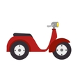 scooter vehicle isolated icon vector image vector image