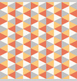 seamless geometric recurring triangle pattern vector image