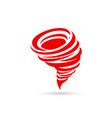 tornado icon tornado icon vector image