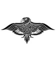 tattoo eagle bird vector image