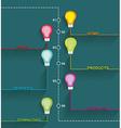 Inforgraphic design vector image