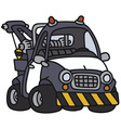 Breakdown service vehicle vector image