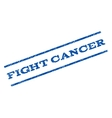 Fight Cancer Watermark Stamp vector image vector image