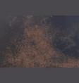 Grunge red brown rust on black metallic sheet