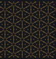 Islamic pattern design in black background