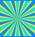 retro comic yellow and blue background raster vector image vector image