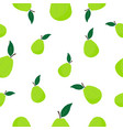 seamless pattern with guava vector image