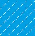 black baseball bat pattern seamless blue vector image vector image