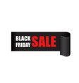 black friday sales tag discount sticker clothes vector image vector image