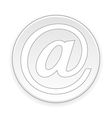 Email button vector image vector image