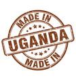 made in uganda vector image vector image