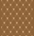 royal crown seamless pattern vector image