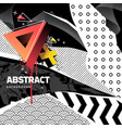 abstract background with mixed textures vector image vector image