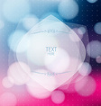 Abstract colorful background with of blurred vector image