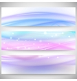 Abstract headers set wave design vector image vector image