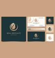 beauty woman hair salon gold gradient logo design
