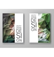 Brochure Multicolored Polygonal Mosaic Backgrounds