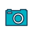 camera photography retro desing isolated vector image