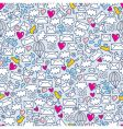 envelope pattern vector image vector image