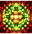 glowing micro cosmos background Eps10 vector image vector image