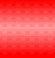 red geometric pattern background vector image vector image