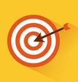 target arrow vector image vector image